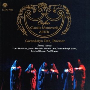 Monteverdi: L'Orfeo CD cover
