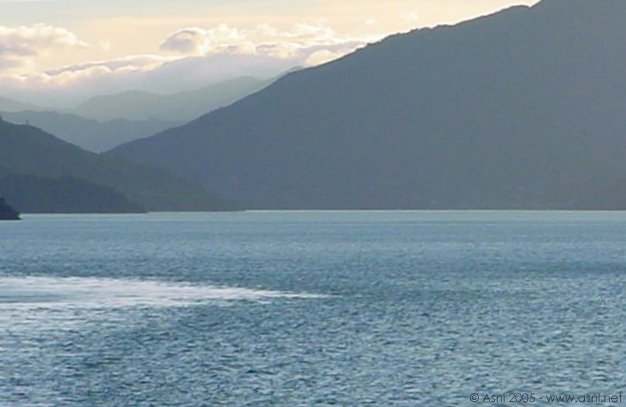 The Marlborough Sounds - going into Picton